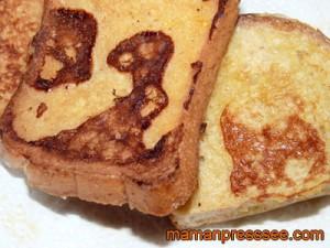 Recette du pain perdu