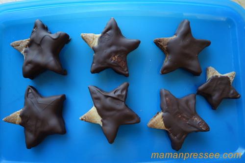 sablés-chocolat