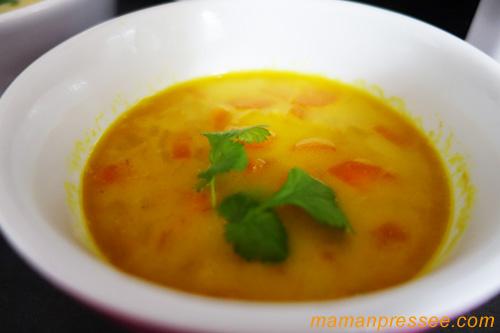 recette soupe lentilles corail