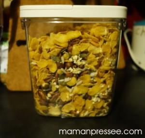 mélange graines et céréales