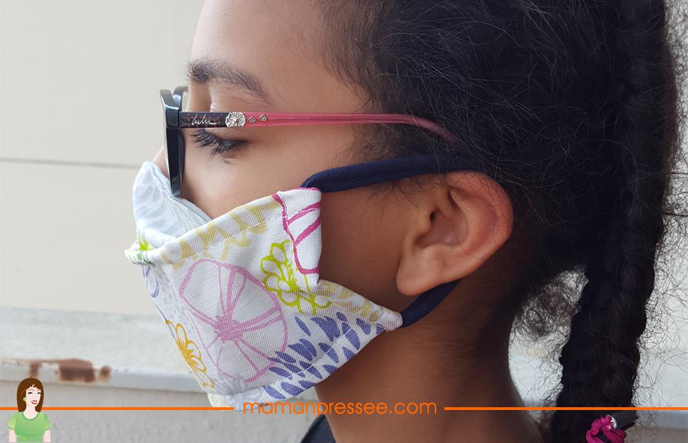 masque de protection fait maison
