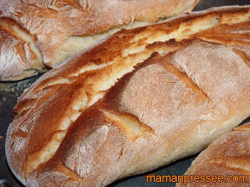 Pain fait à la machine à pain