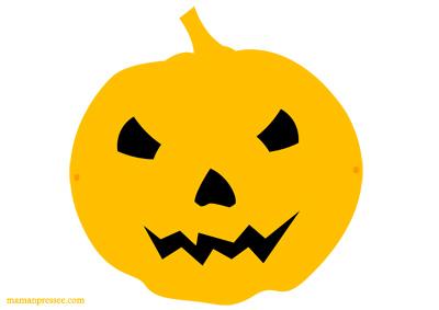 Masque d'Halloween à imprimer